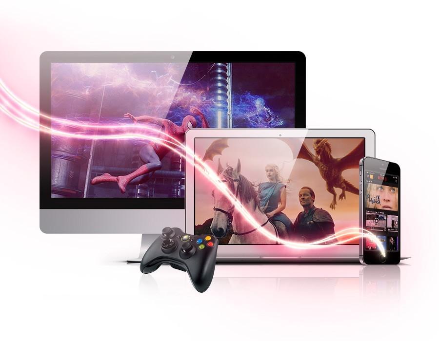 Click para filmes series e jogos